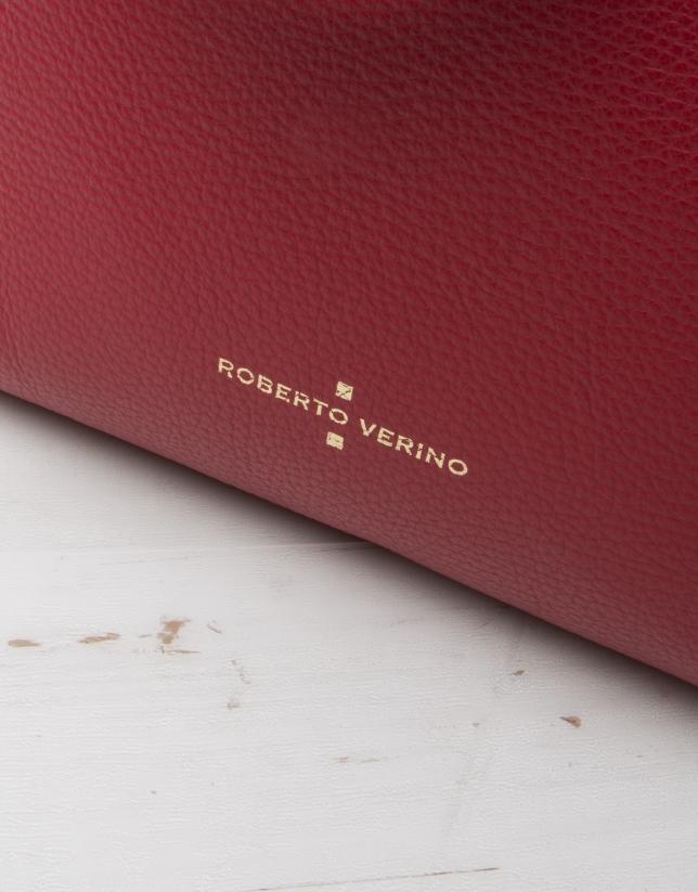 Red Uve shopping bag