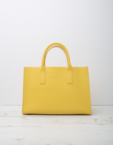 Bolso shopping Montpellier amarillo