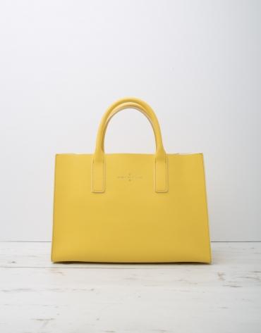 Cabas Montpellier jaune