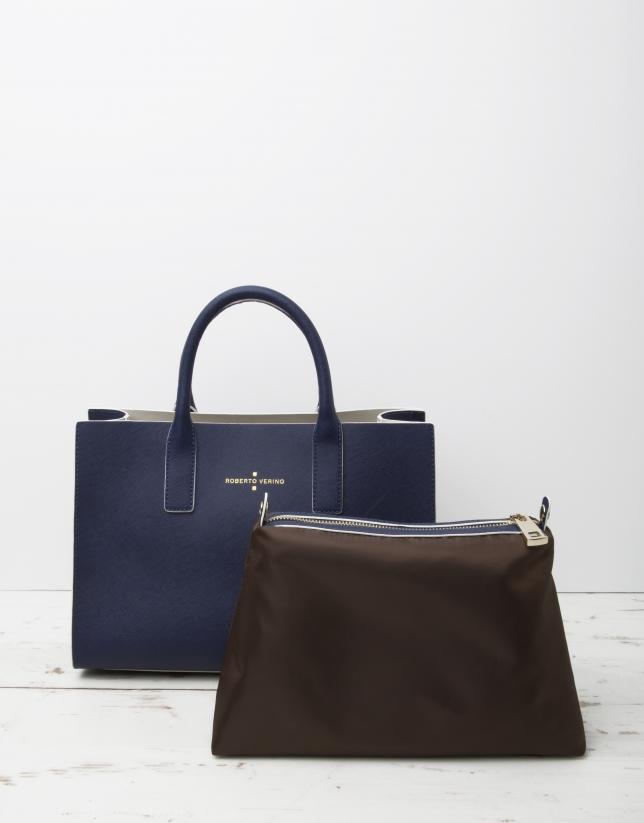 Bolso shopping Montpellier azul