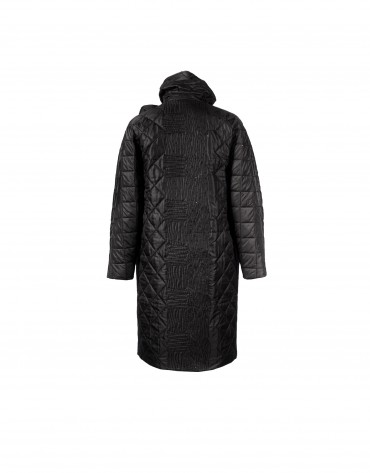 Black down coat