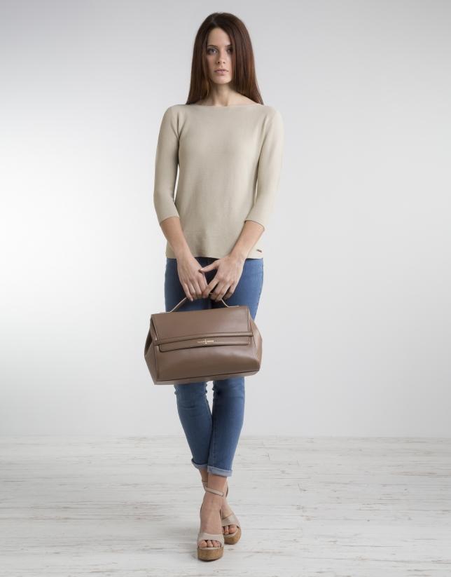 Bolso satchel Cambon