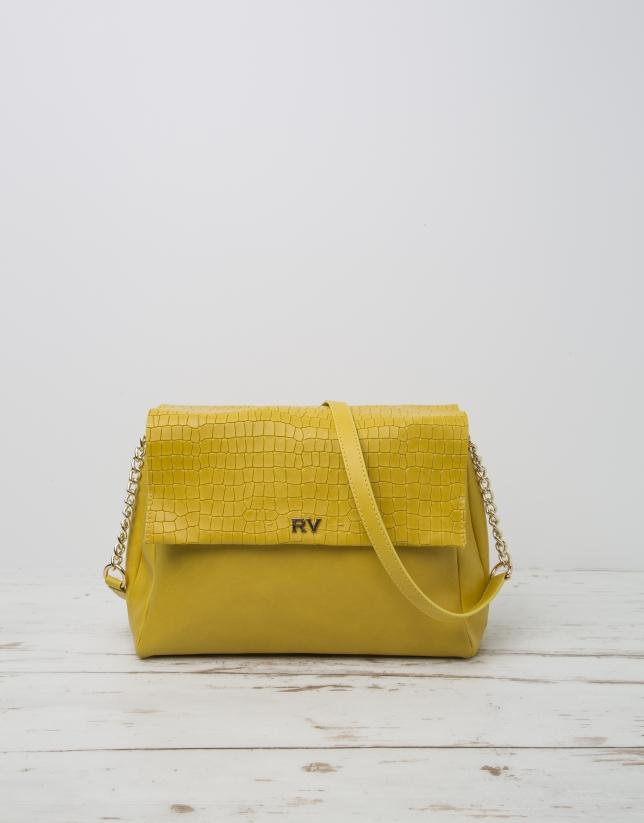 Yellow Olivia shoulder bag