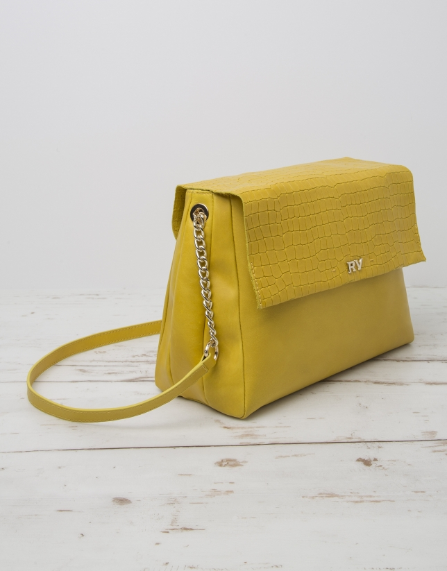 Yellow Olivia shoulder bag