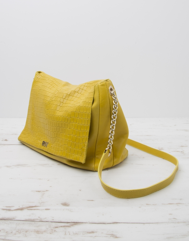 Bolso bandolera Olivia amarillo