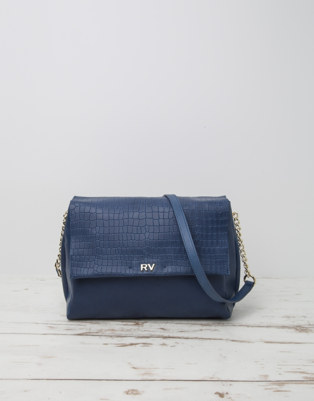 Blue Olivia shoulder bag
