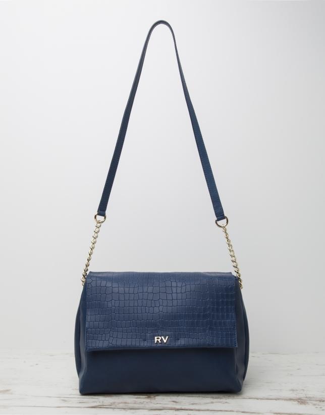 Bandoulière Olivia bleue