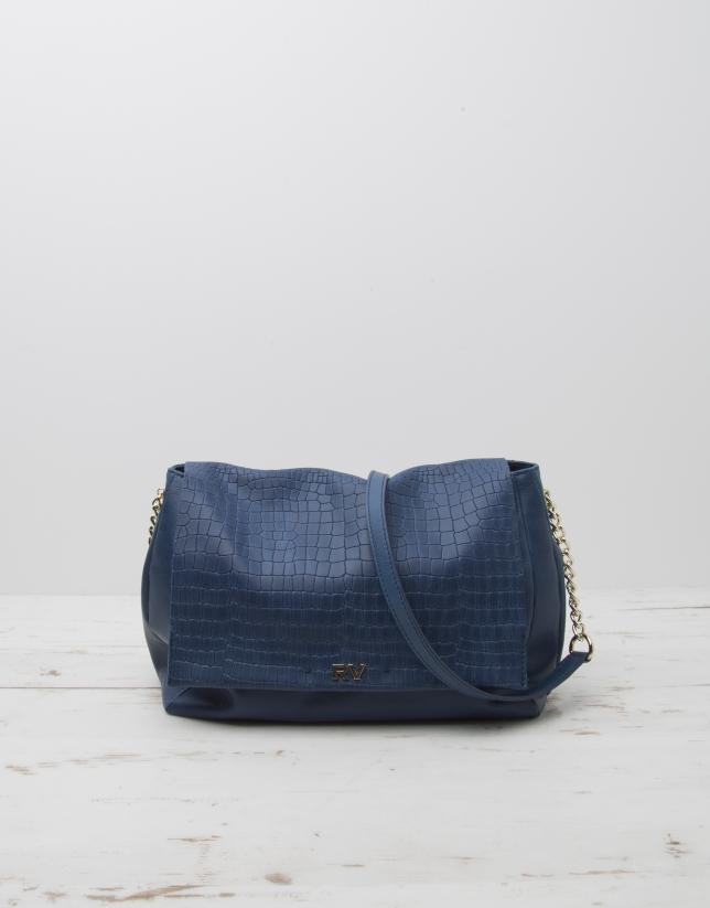 Blue Olivia shoulder bag