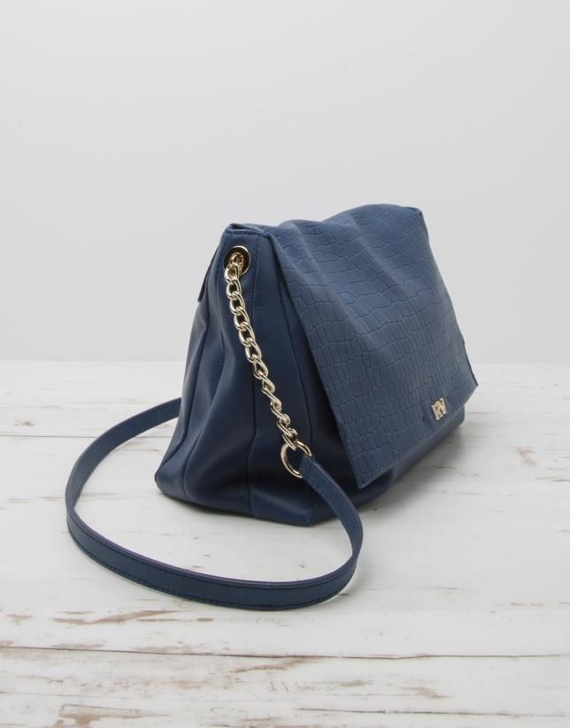 Bolso bandolera Olivia azul