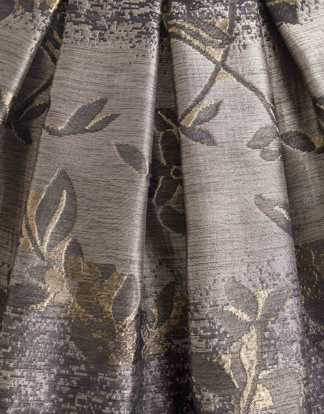 Floral print full dress