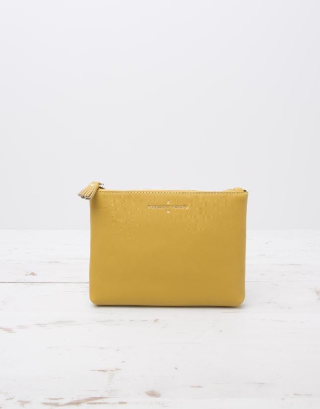 Yellow vanity case