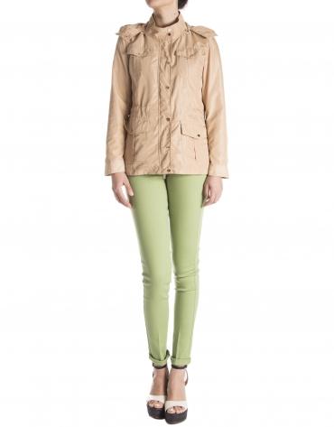 Camel trench coat