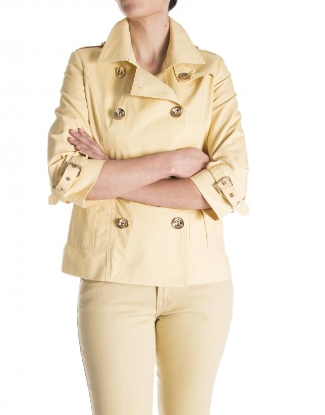 Yellow sports jacket