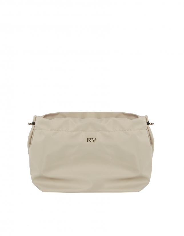 Organisateur de sac à main couleur beige
