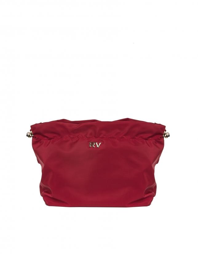 Organizador bolsos rojo