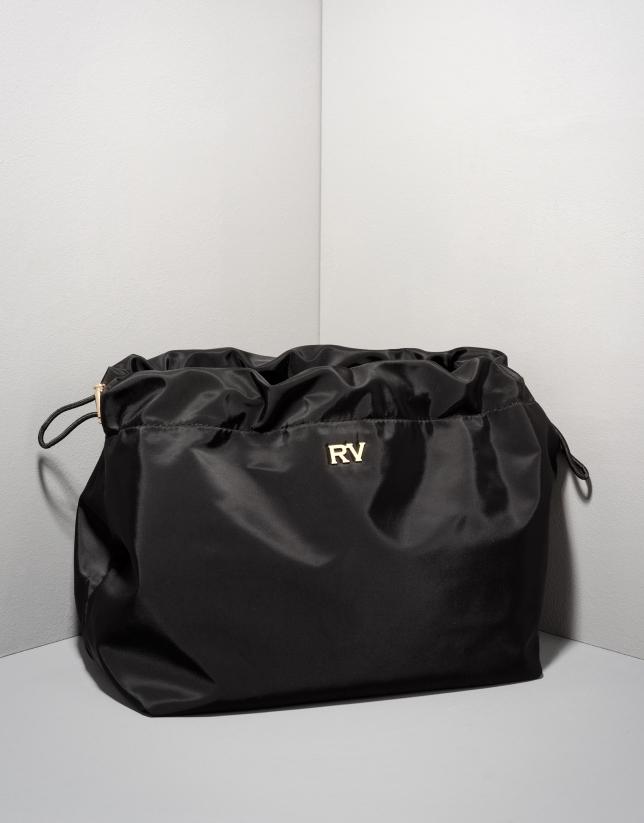 Black bag organizer
