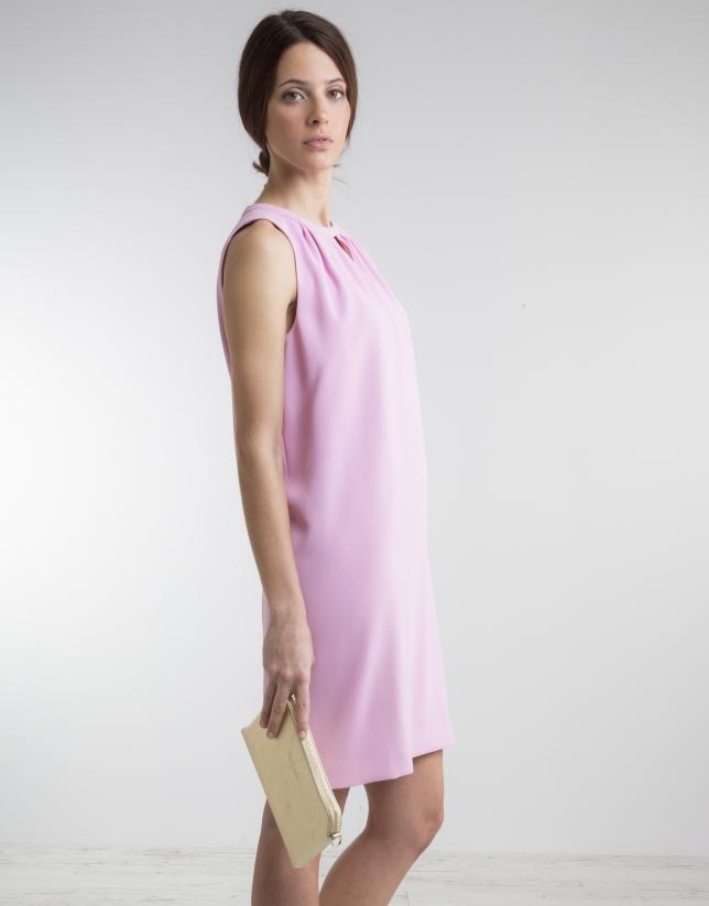 Pink loose dress