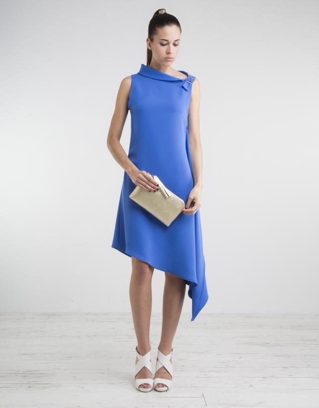 Blue short dress