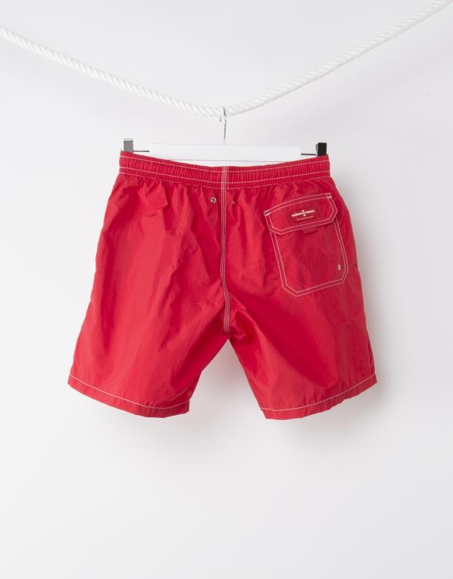 Maillot de bain homme rouge