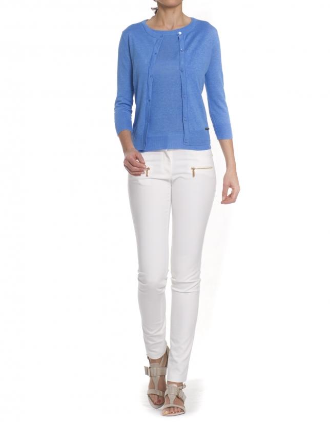 Linen sweater