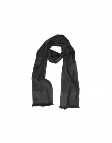 Steel grey scarf