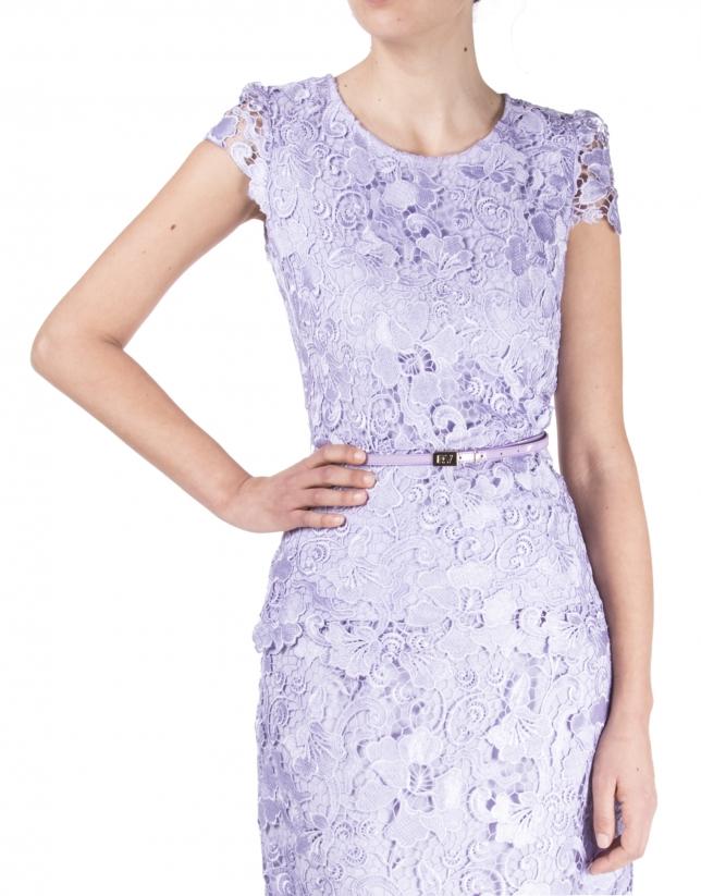 Lavender lace top