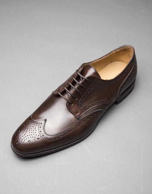 Zapato oxford marrón