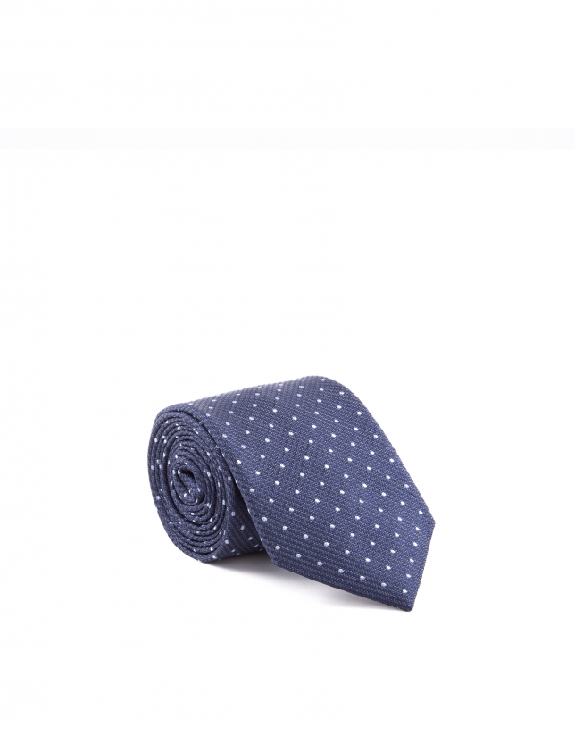 Dotted necktie