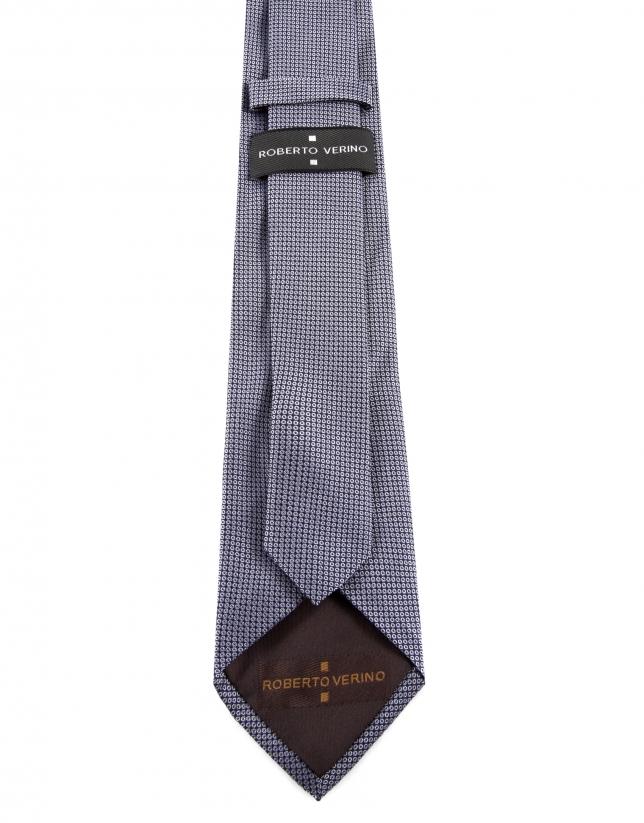 Microprint necktie