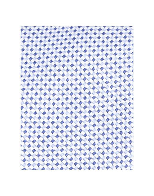 Corbata microdibujo azul
