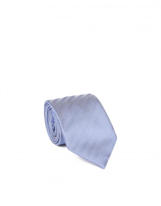 Cravate à chevrons