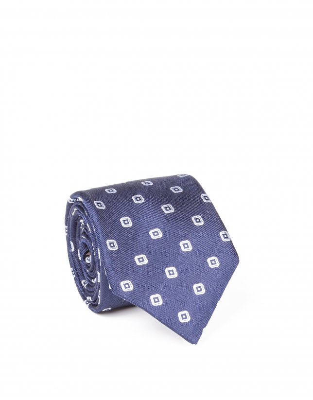 Plain flower tie