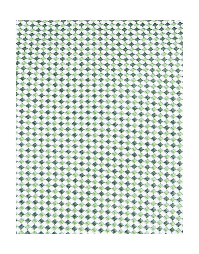 Cravate verte à micromotifs