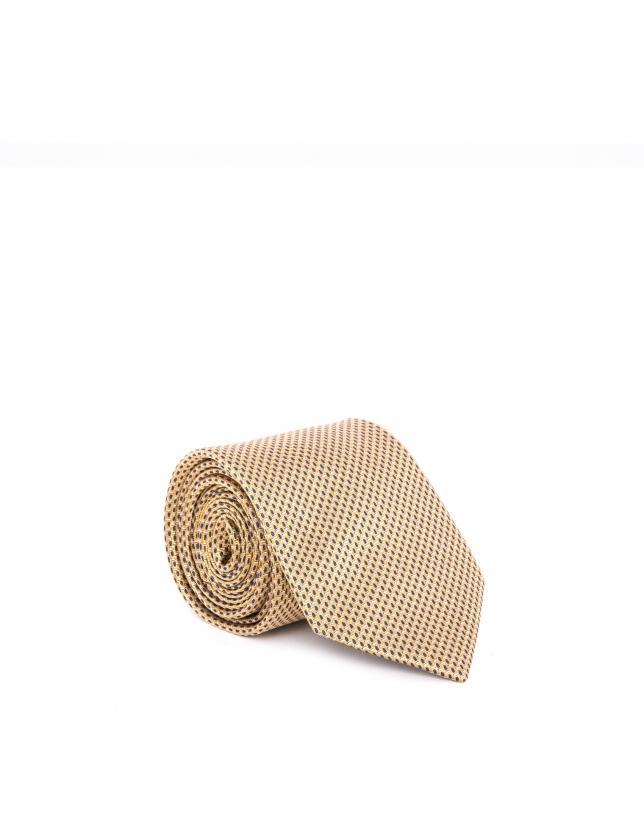 Corbata microdibujo mango