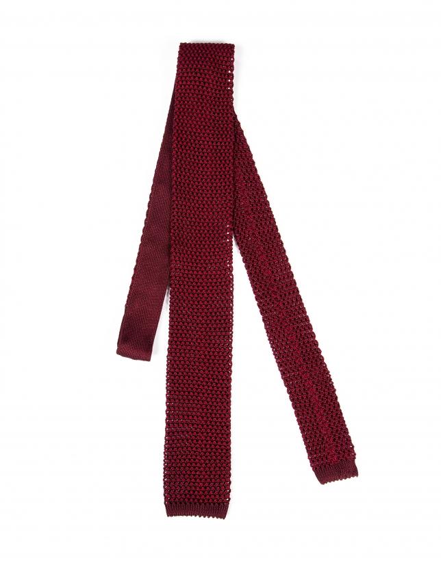 burgundy knit tie ties accessories roberto verino