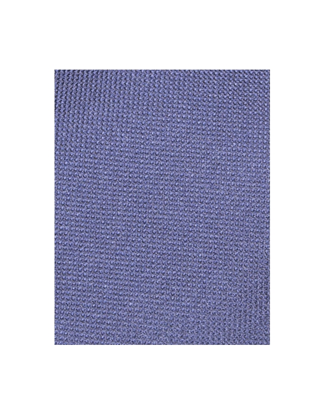 Cravate unie bleu marine