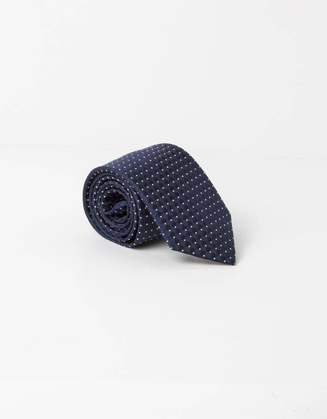 Corbata topos celeste fondo marino