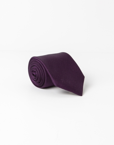 Purple microstructure tie