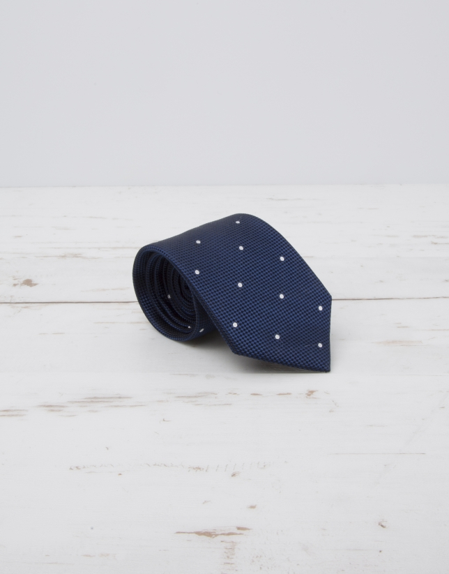 Ivory dotted tie