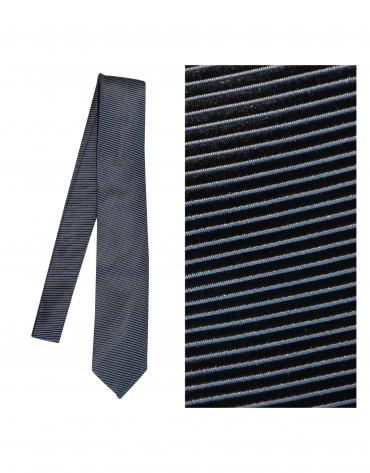 Coal grey tie