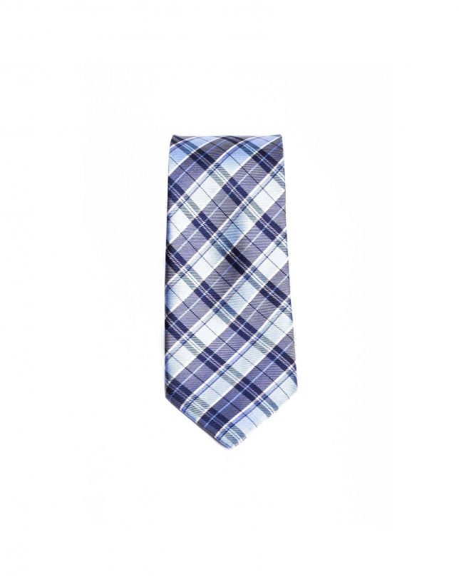Prince of Wales striped tie