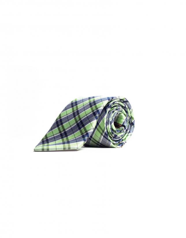 Corbata cuadro gales