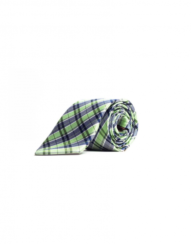 Prince of Wales checked tie