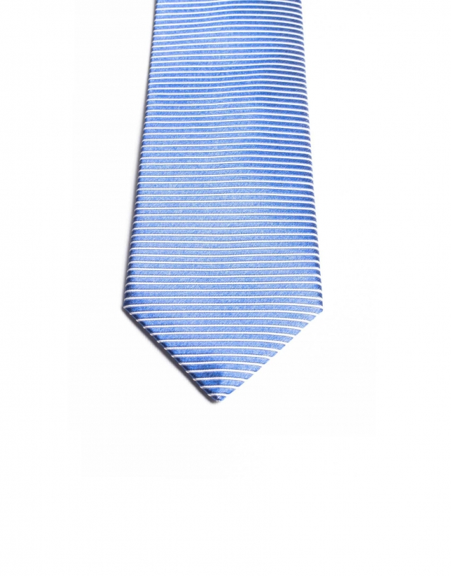 Striped on the bias tie