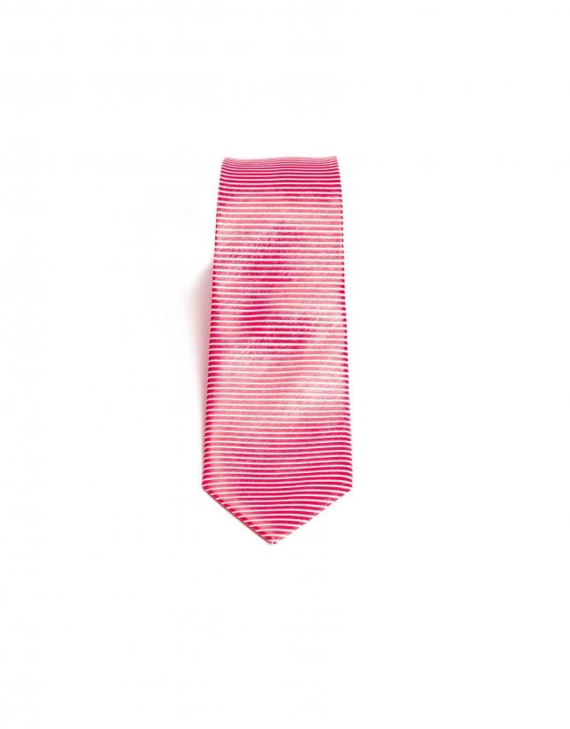 Striped on the bias tie