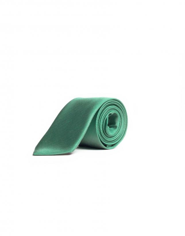 Corbata micro cuadro
