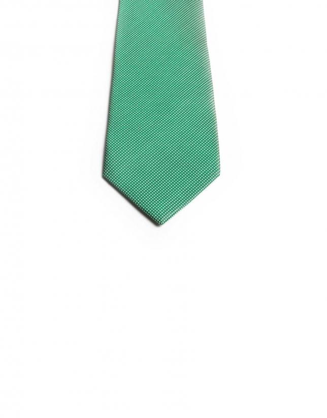 Cravate microquadrillage
