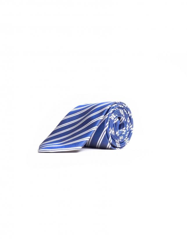 Corbata rayas fantasía