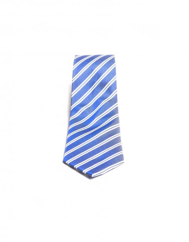 Cravate à rayures fantaisie