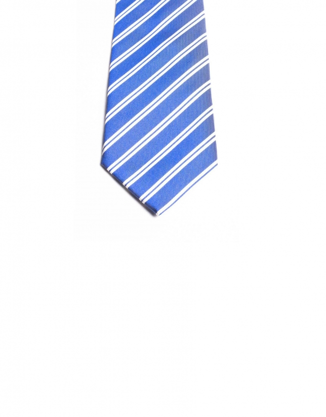 Fantasy striped tie
